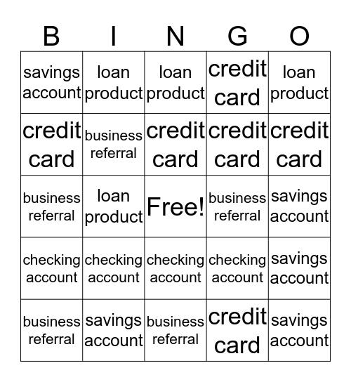 Banking Bingo Team Jack O Lantern Bingo Card