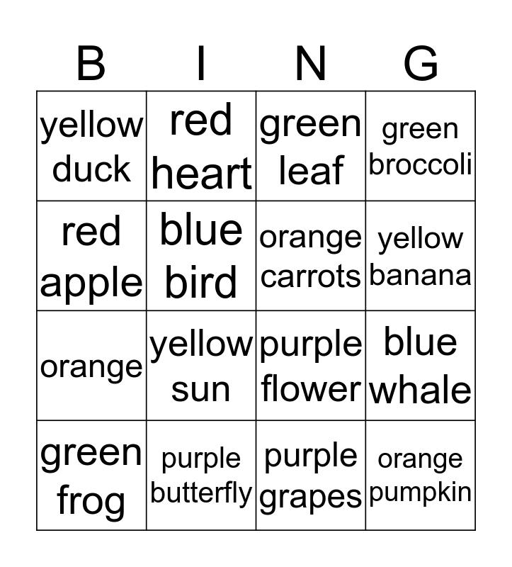 Hello Kitty Bingo Card
