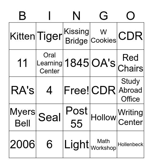 Boo-ingo Bingo Card