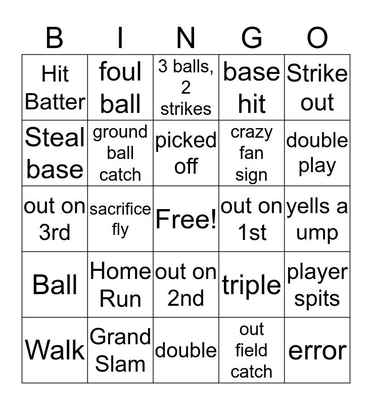 ALCS Bingo Card