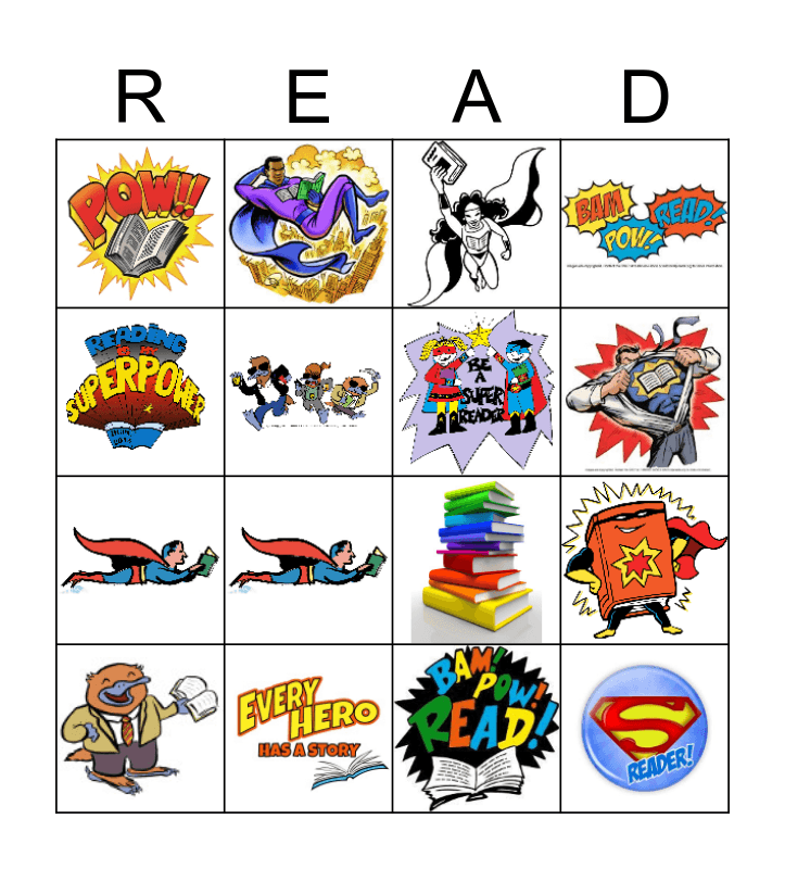 BingoSummer Reading Bingo Card