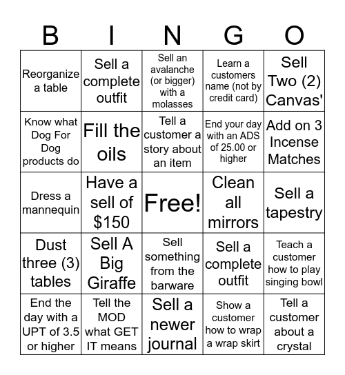 Earthbound Bingo! Bingo Card
