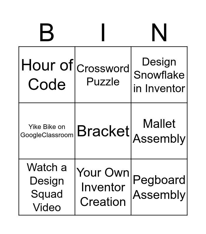 Design and Modeling Bingo Card