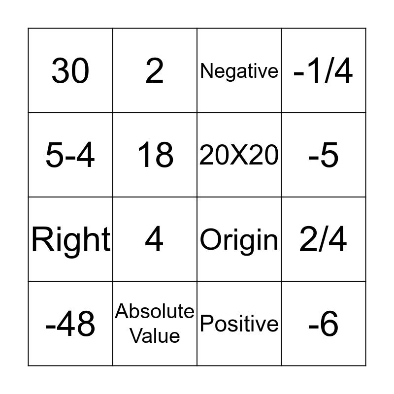 Bushke Bingo Card