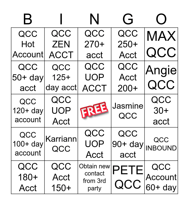 Solutions Sunday Bingo Card