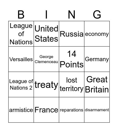 FAIL!!! Bingo Card