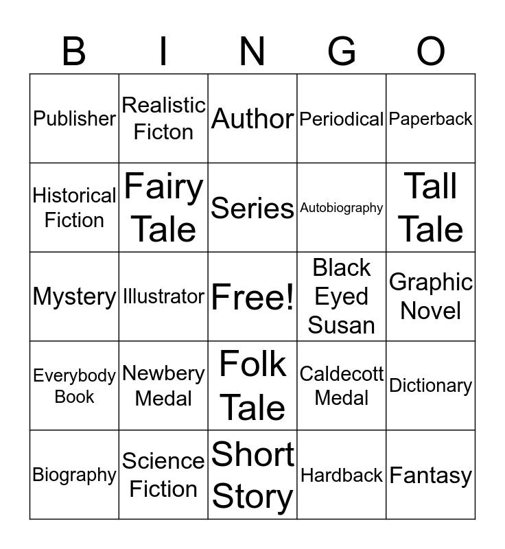 Media Center Bingo Card