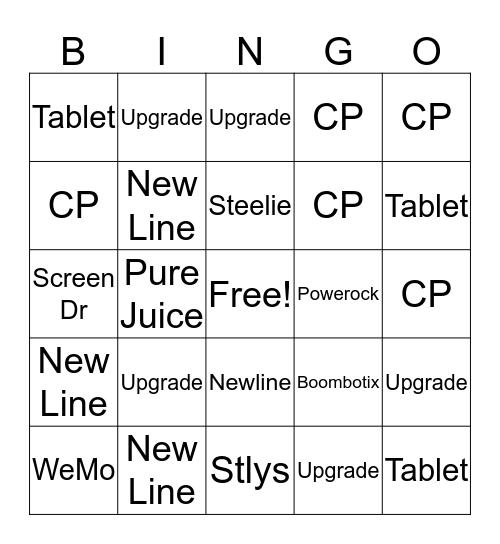 Leah Bingo Card Bingo Card