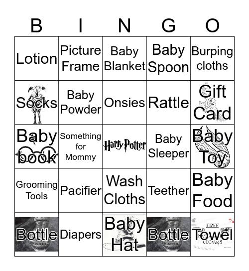 MUGGLE BABY BINGO Card