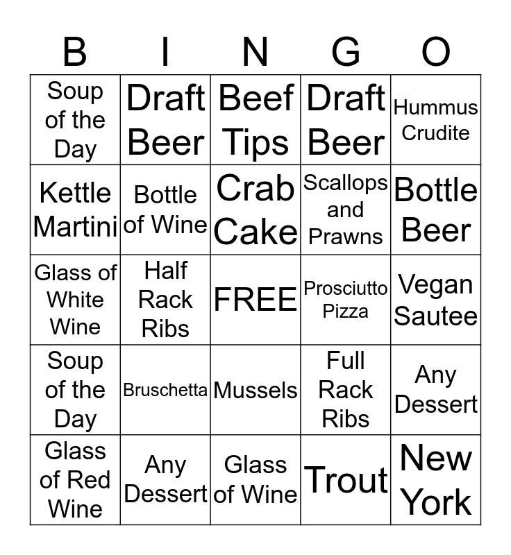 PM CREW Bingo Card