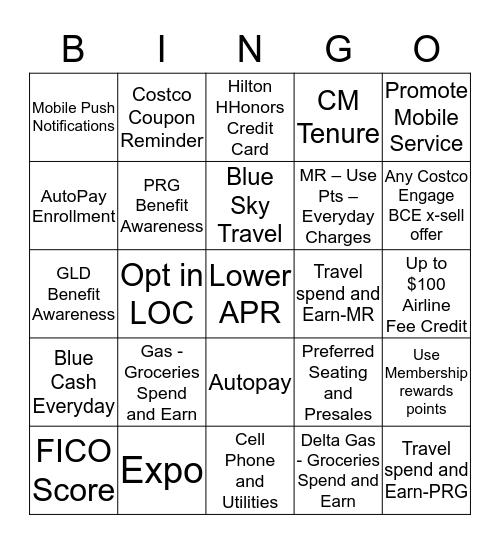 Show the Love Bingo  Bingo Card