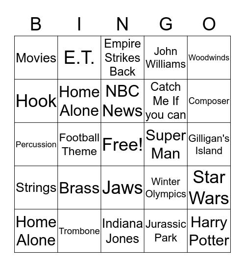 JW Bingo Card