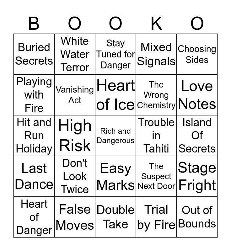 Mystery BookO Bingo Card