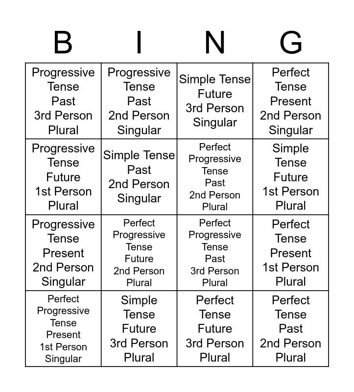 Chart O Bingo Card