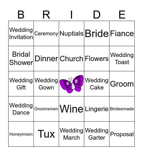 Erika's Bingo Card