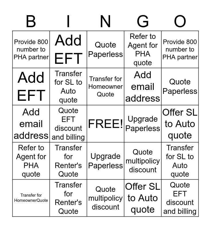HHV BINGO... can you improve your tool usage?! Bingo Card
