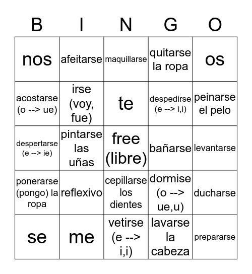 es la hora de bingo en lińea Bingo Card