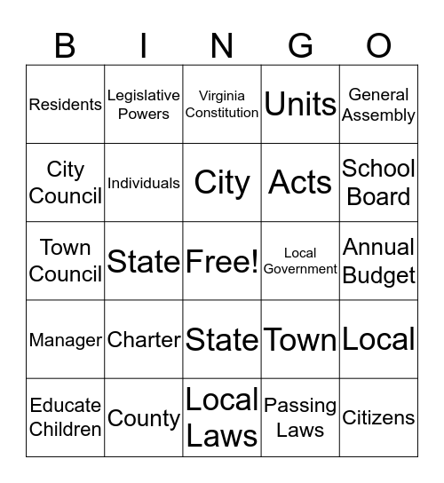Sol ce8 Bingo Card