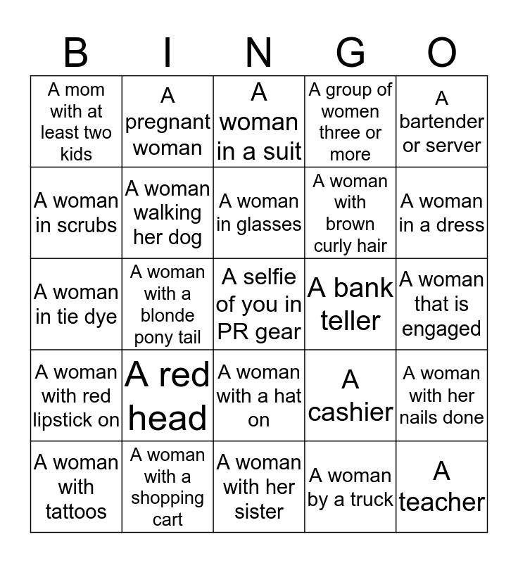 Buzz Babe Bingo Card