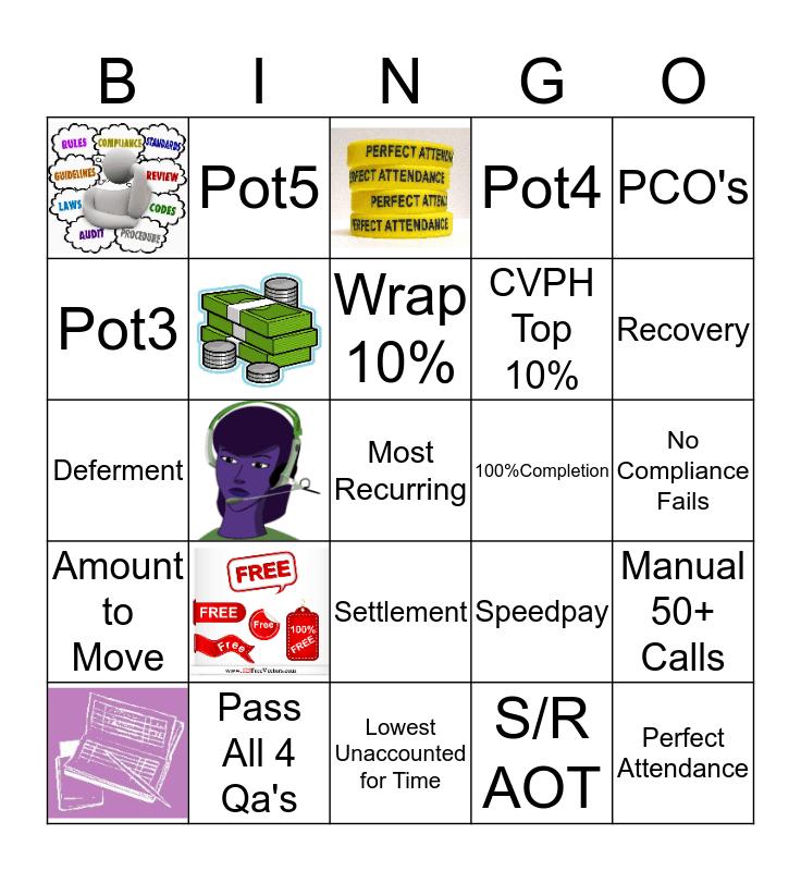 MONEY MAKING MAY Bingo Card