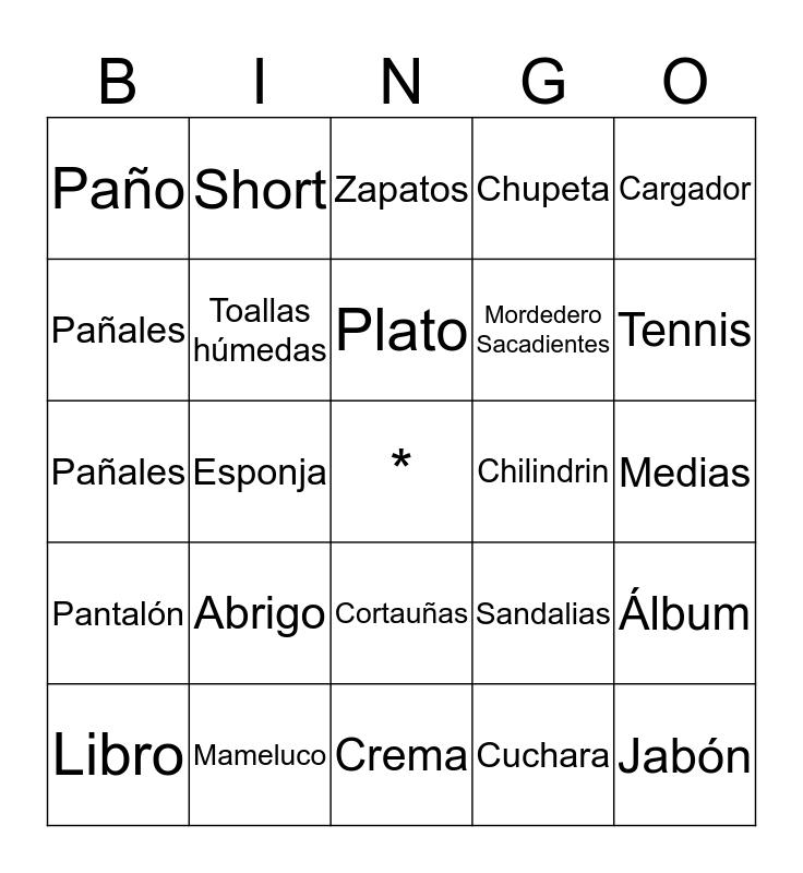 TÉ DE CANASTILLA - EFRAÍN Bingo Card