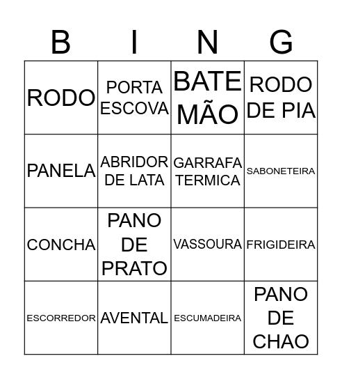 CINTHIA Bingo Card