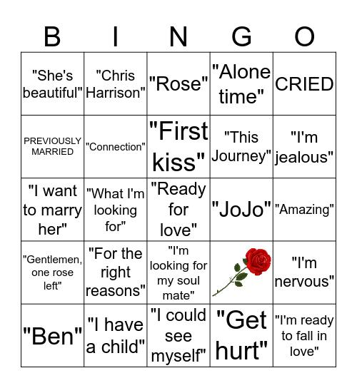 The Bachelorette Bingo Card