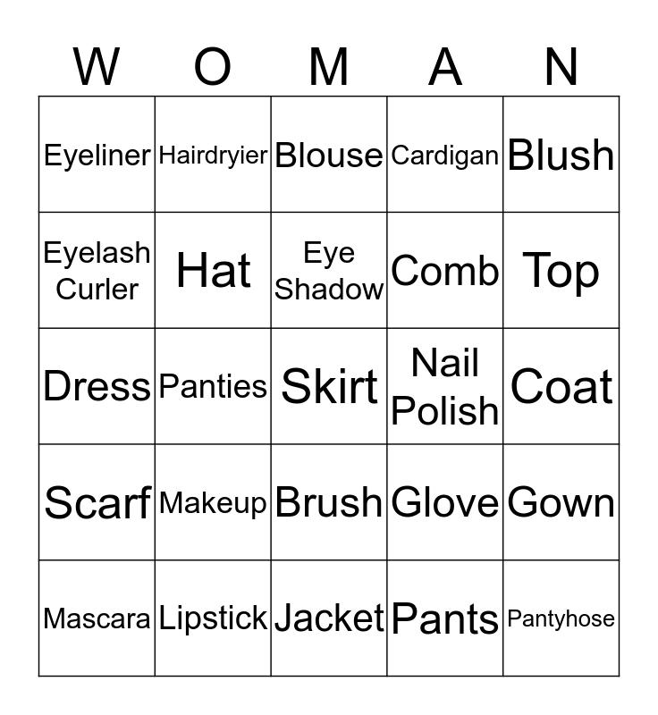 Happy Women's Day!!! Bingo Card