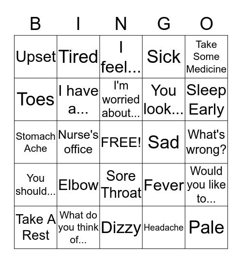 白ビンゴ Bingo Card
