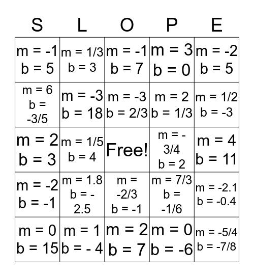 GEOMETRIC SKI RESORT Bingo Card