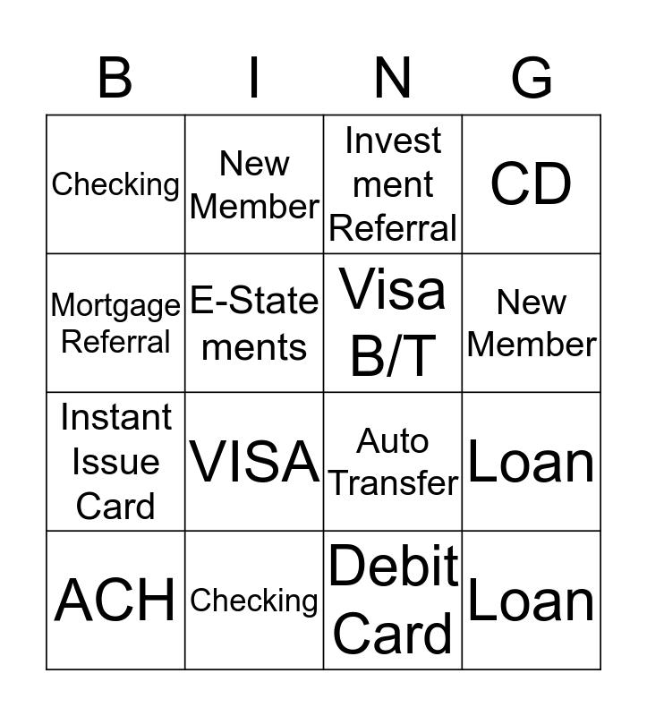 AUGUST BINGO BUCKS $$ Bingo Card
