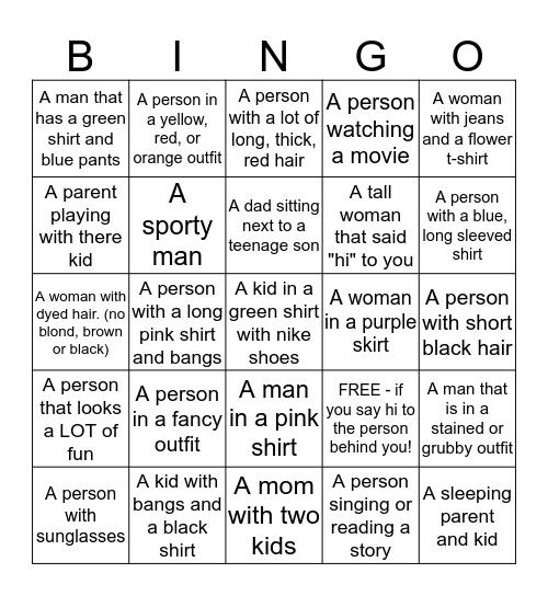 Alaska Bingo #1 Bingo Card