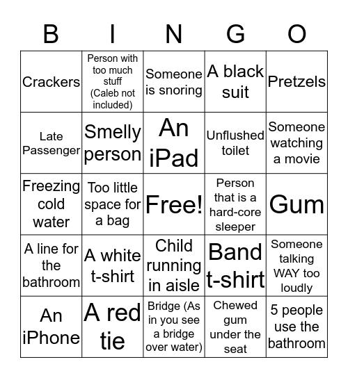 Alaska Bingo #4  Bingo Card