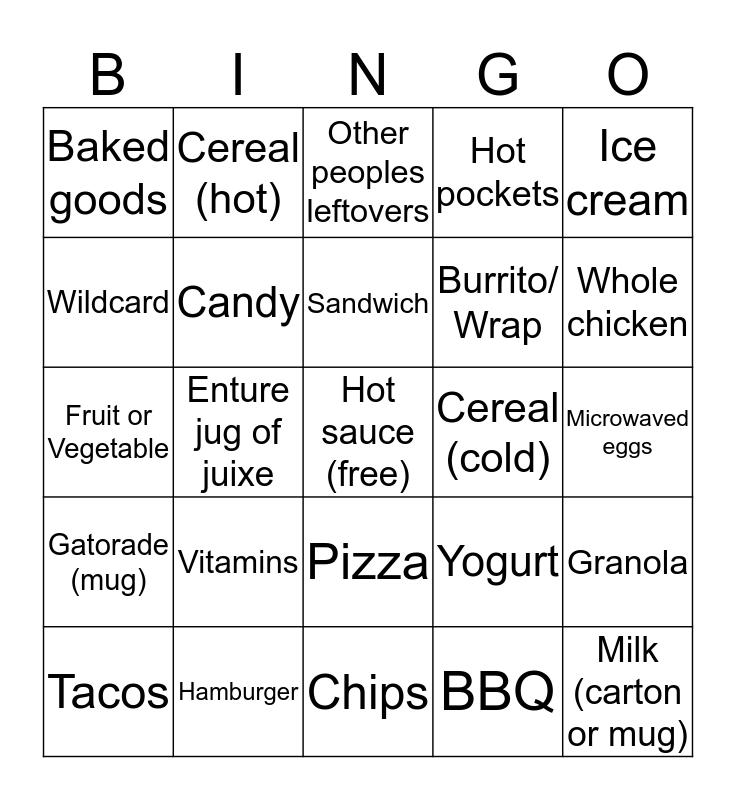 Normal regular bngo Bingo Card