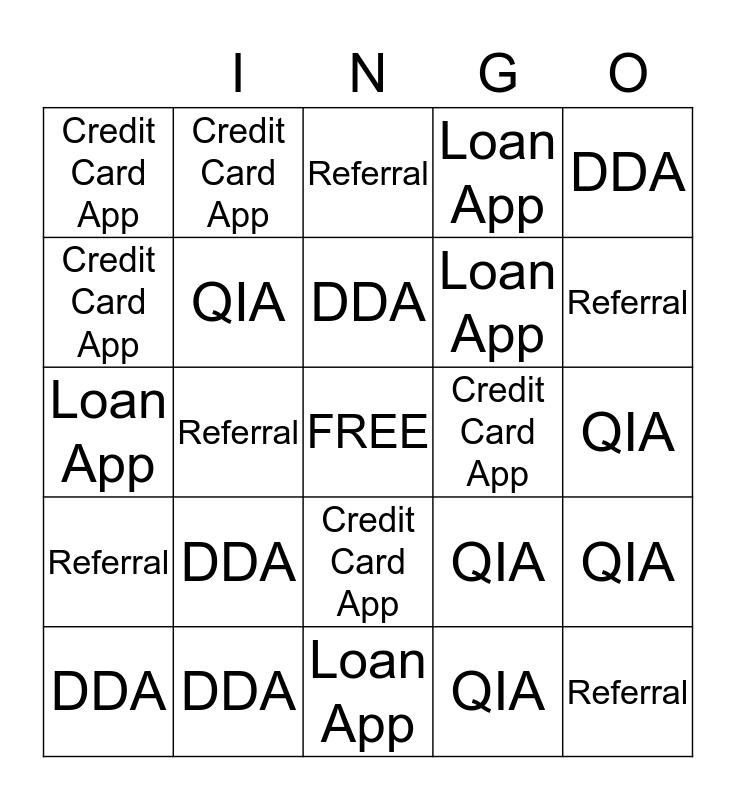 **TEAM P'WAY** Bingo Card