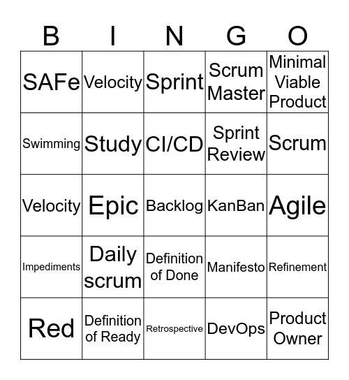 Bullsh*t Bingo Card