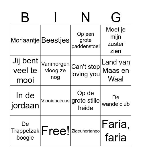 DGH 16 sept Bingo Card