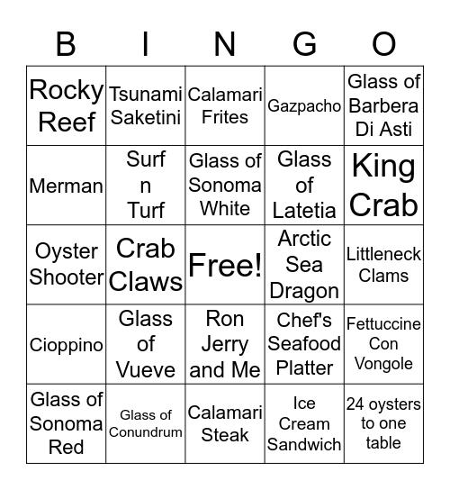 Friday Night Bingo $30,$20,$10 Bingo Card
