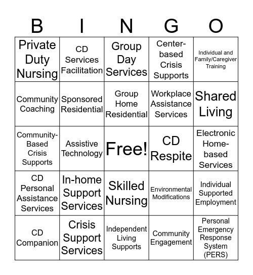 MLMC Bingo Card