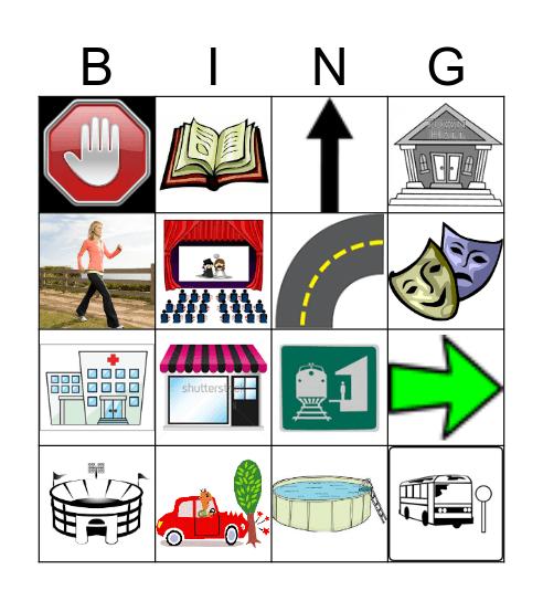 IN DER STADT Bingo Card