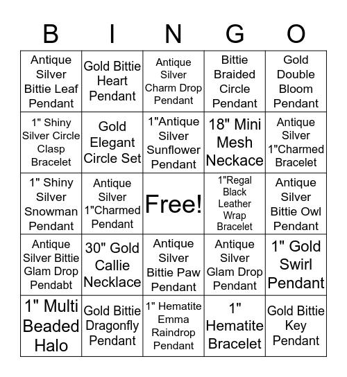 Magnabilities Bingo Card