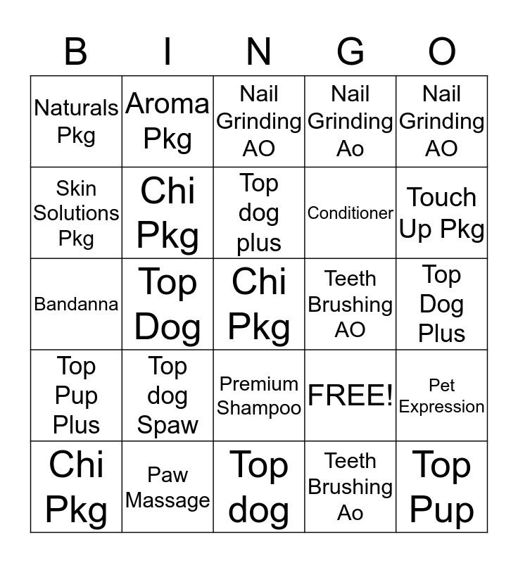Kristin Bingo Card