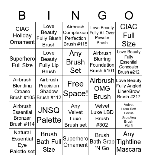 Discover IT. Love IT. Believe IT. Bingo Card