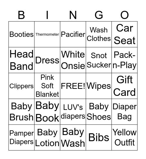 BROOKELYNN Bingo Card