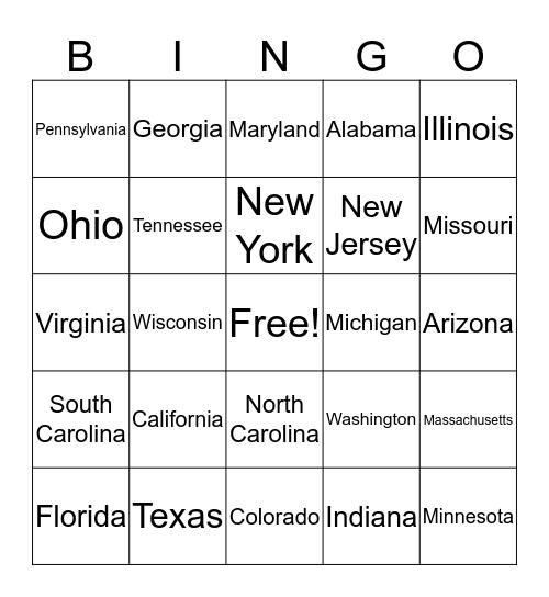 Election Day 2016 Bingo  Bingo Card