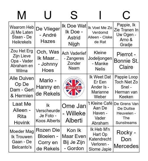 Ronde 3 #1 Bingo Card