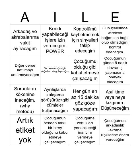 LEADERS HILL Bingo Card