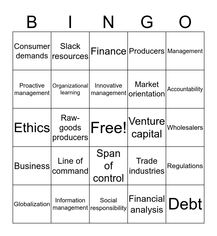 5.03 Vocab Bingo Card