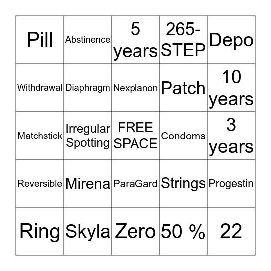 A STEP AHEAD CHATTANOOGA Bingo Card