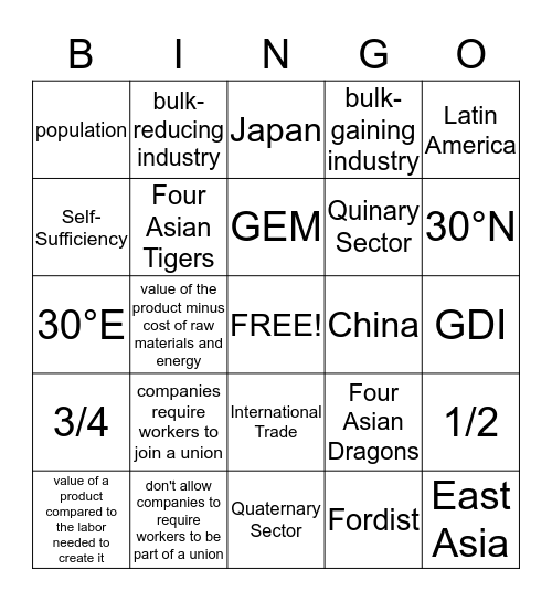 Bingo Card 2  Bingo Card